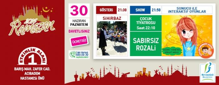 Beylikdüzü Belediyesi Ramazan Etkinlikleri