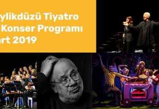 beylikdüzü konser tiyatro mart 2019