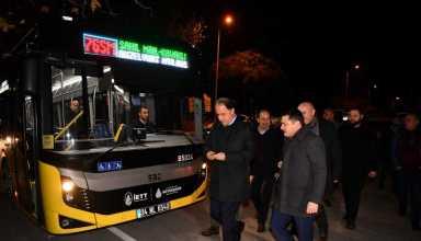 76SM OTOBUS HATTI Metrobüs Beylikdüzü Belediye